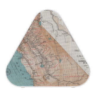 Mapa de California 2 Altavoz Bluetooth