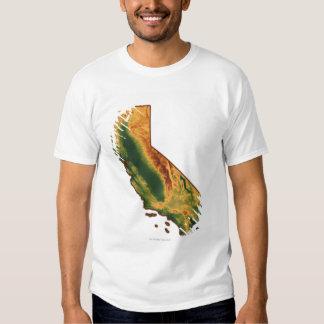 Mapa de California 2 Playeras
