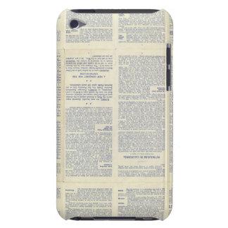 Mapa de California 3 Case-Mate iPod Touch Protector