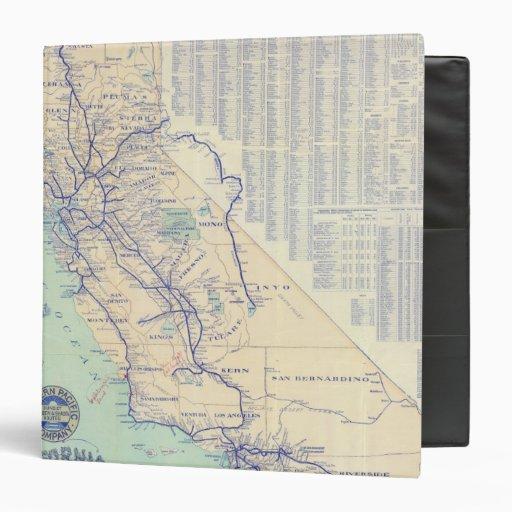 Mapa de California 4