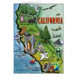 Mapa de California Tarjeta