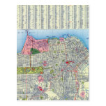 Mapa de calle de San Francisco Postal