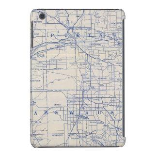Mapa de camino de la bicicleta de Wisconsin 2 Fundas De iPad Mini