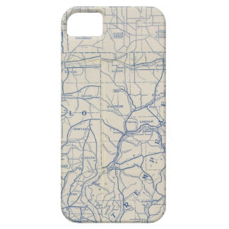 Mapa de camino de la bicicleta de Wisconsin 6 iPhone 5 Coberturas