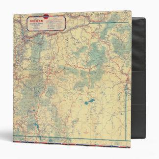 """Mapa de camino de los Estados Occidentales Carpeta 1 1/2"""""""
