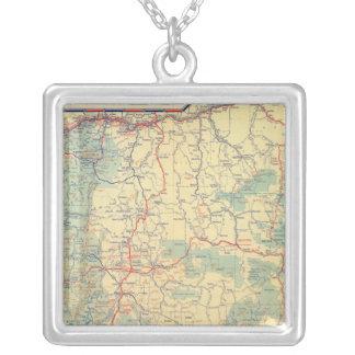 Mapa de camino de los Estados Occidentales Colgante Cuadrado