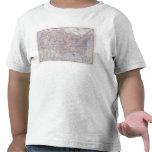 Mapa de camino Estados Unidos Camisetas