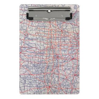 Mapa de camino Estados Unidos Minicarpeta De Pinza
