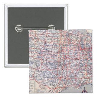 Mapa de camino Estados Unidos Pin