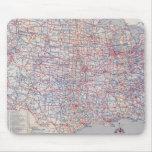 Mapa de camino Estados Unidos Alfombrillas De Raton