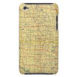 Mapa de camino N y S Dakota iPod Touch Case-Mate Protector