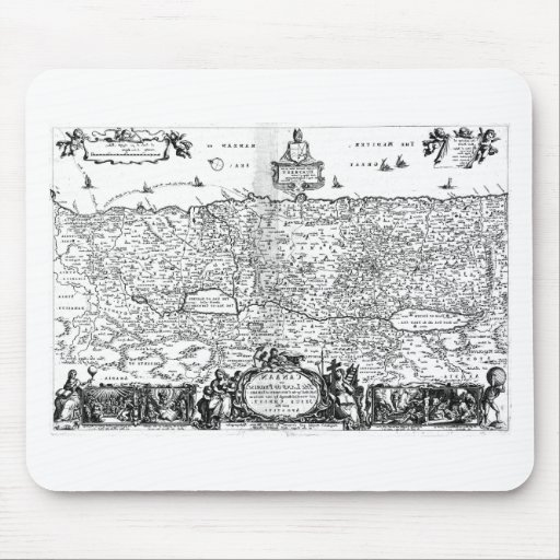 Mapa de Canaan Mousepad