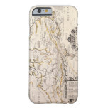 Mapa de Canadá Funda Barely There iPhone 6