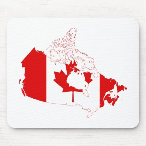 MAPA DE CANADÁ MOUSEPADS