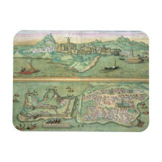Mapa de Candia y de Corfú, de 'Civitates Orbis Ter Imanes