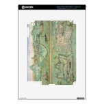 Mapa de Candia y de Corfú, de 'Civitates Orbis Ter iPad 3 Pegatinas Skins