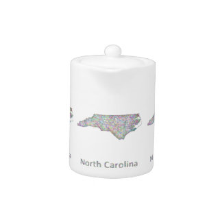 Mapa de Carolina del Norte