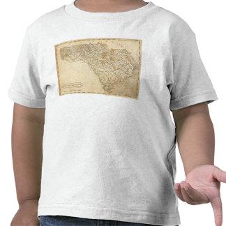 Mapa de Carolina del Sur por Arrowsmith Camisetas