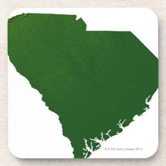 Mapa de Carolina del Sur Posavaso