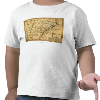 Mapa de CarolinaPanoramic Camiseta