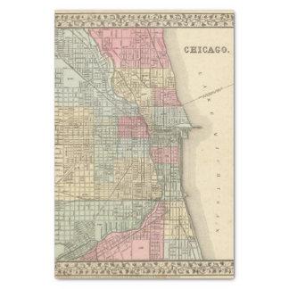 Mapa de Chicago de Mitchell