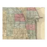 Mapa de Chicago de Mitchell Postal