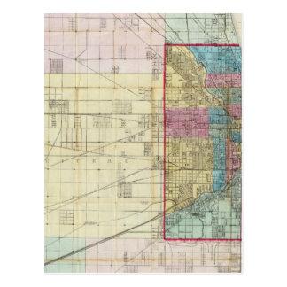 Mapa de Chicago Postal