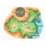 Mapa de China Postal