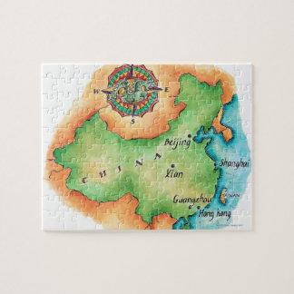 Mapa de China Puzzle