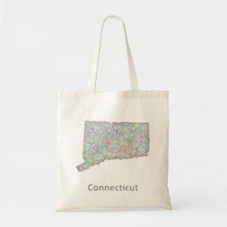 Mapa de Connecticut