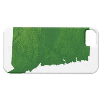 Mapa de Connecticut 2 Funda Para iPhone SE/5/5s