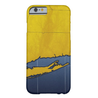 Mapa de Connecticut Funda Barely There iPhone 6