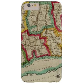 Mapa de Connecticut Funda Para iPhone 6 Plus Barely There