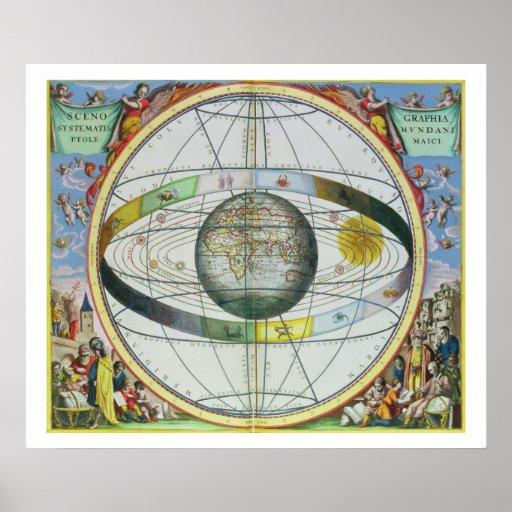 Mapa de constelaciones cristianas, 'del Celesti Impresiones