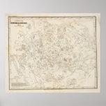 Mapa de constelaciones posters