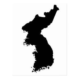 Mapa de Corea Postal