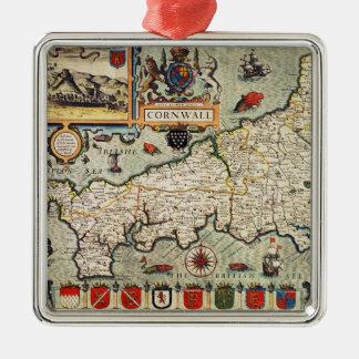 Mapa de Cornualles Adorno