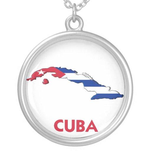 MAPA DE CUBA COLGANTE REDONDO