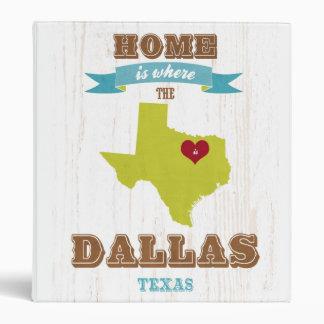 Mapa de Dallas Tejas - casero es donde está el co