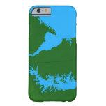 Mapa de Delaware Funda Barely There iPhone 6