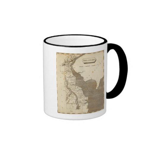 Mapa de Delaware por Arrowsmith Taza