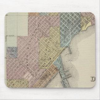 Mapa de Duluth, el condado de St. Louis, Minnesota Tapete De Ratones