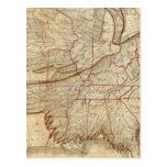 Mapa de Eagle de los Estados Unidos Postal
