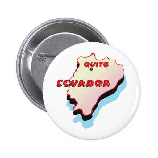 Mapa de Ecuador Pin
