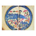 Mapa de Egipto, 1348 Tarjeta Postal