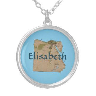Mapa de Egipto + Collar conocido