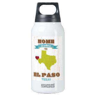Mapa de El Paso, Tejas - casero es donde está el