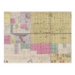 Mapa de emporios, Kansas Postal