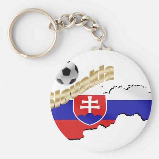 Mapa de Eslovaquia para la gente y los amantes esl Llavero Redondo Tipo Pin
