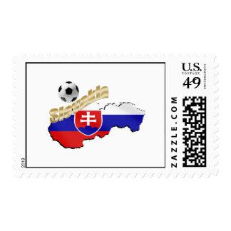 Mapa de Eslovaquia para la gente y los amantes Sellos